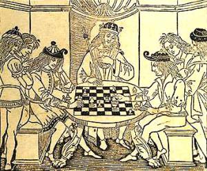 królowie grają w szachy